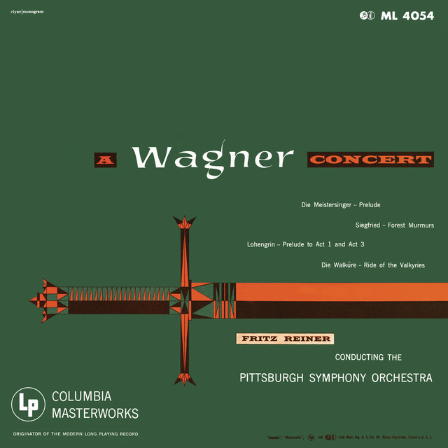 Album cover for Fritz Reiner Conducts Wagner (Remastered) by Richard Wagner, Fritz Reiner, Pittsburgh Symphony Orchestra