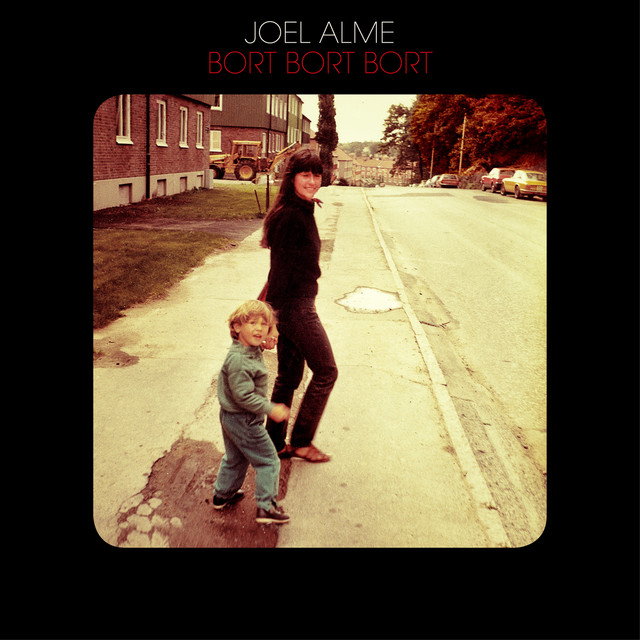 Skivomslag för Joel Alme: Bort Bort Bort