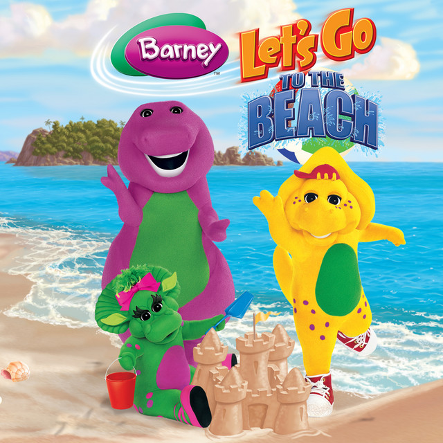 Let's Go to the Beach by Barney