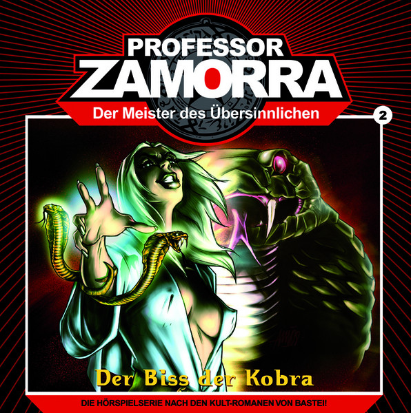 Professor Zamorra - 2 - Der Biss der Kobra