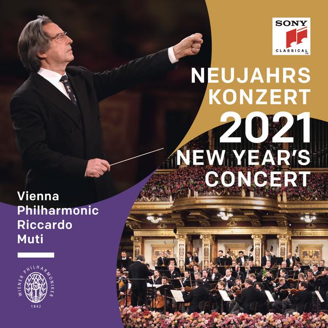 Album cover for Neujahrskonzert 2021 / New Year's Concert 2021 / Concert du Nouvel An 2021 by Riccardo Muti, Wiener Philharmoniker