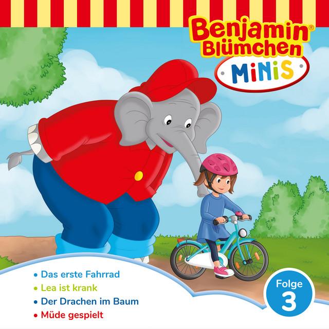 Benjamin Minis - Folge 3: Das erste Fahrrad Cover