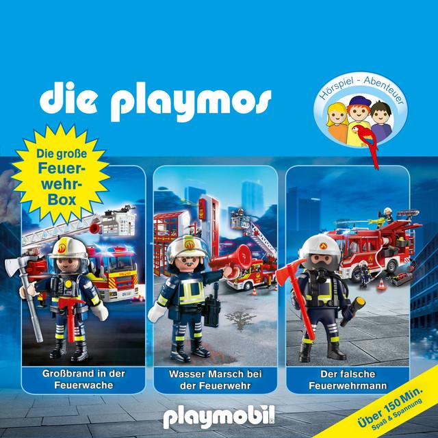 Die große Feuerwehr-Box, Folgen 42, 57, 62 (Das Original Playmobil Hörspiel) Cover