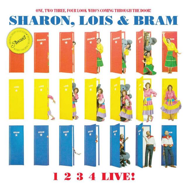 1234 LIVE! by Sharon, Lois & Bram