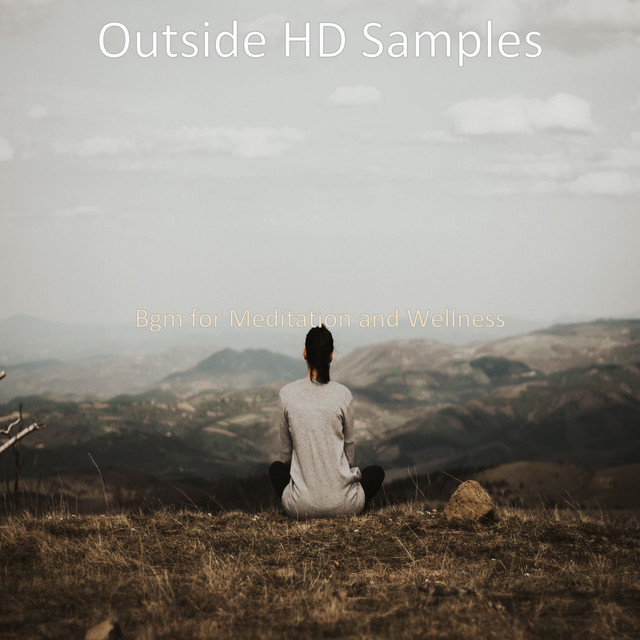 Album cover for Bgm for Meditation and Wellness by Outside HD Samples