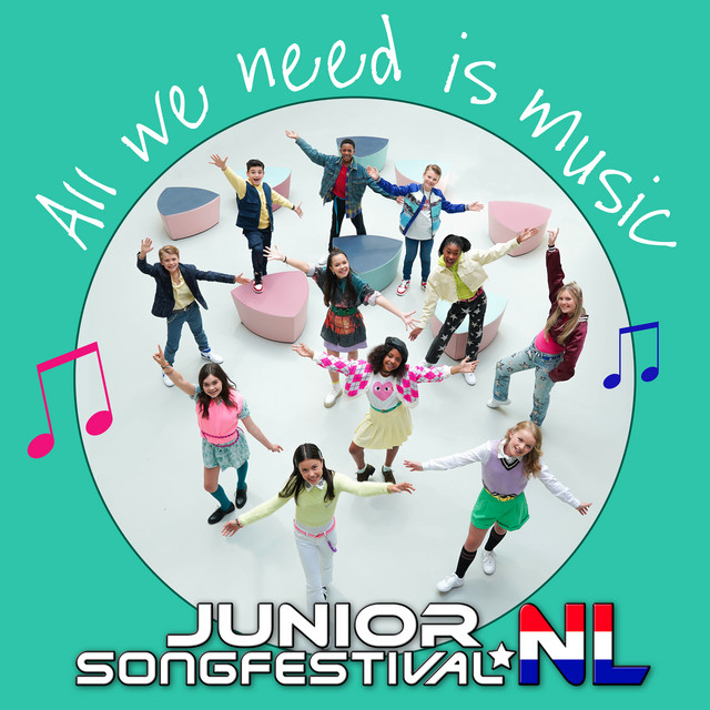 Finalisten Junior Songfestival 2020 - All We Need Is Music