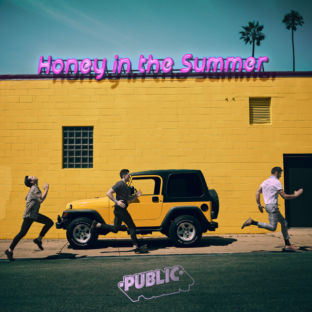 PUBLIC - Honey In The Summer cover
