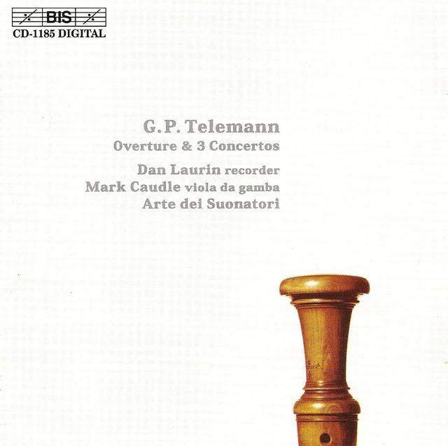 Telemann: Overture / 3 Recorder Concertos