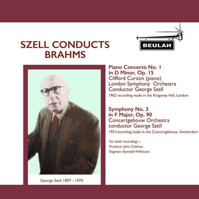 Szell Conducts Brahms