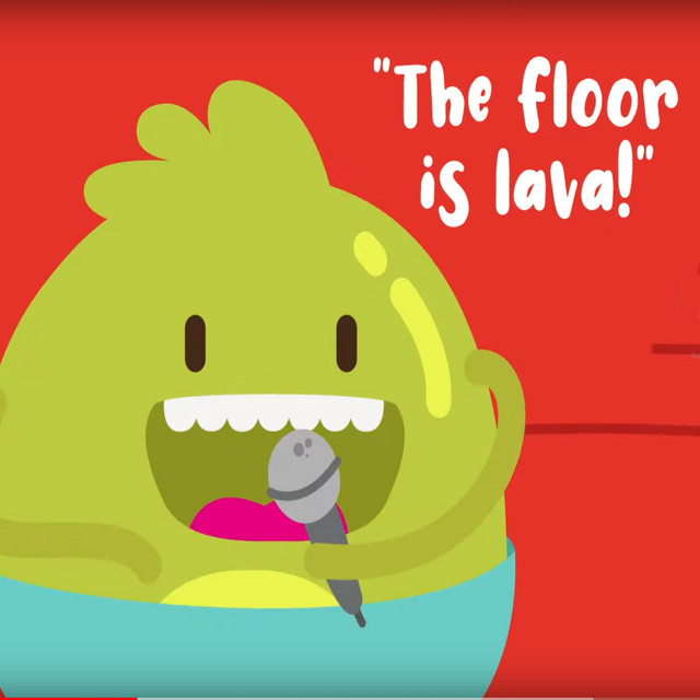 The Floor is Lava Song for Kids by The Kiboomers
