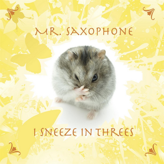 I Sneeze in Threes by Mr. Saxophone