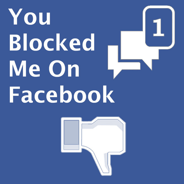 You on facebook why blocked me did You can