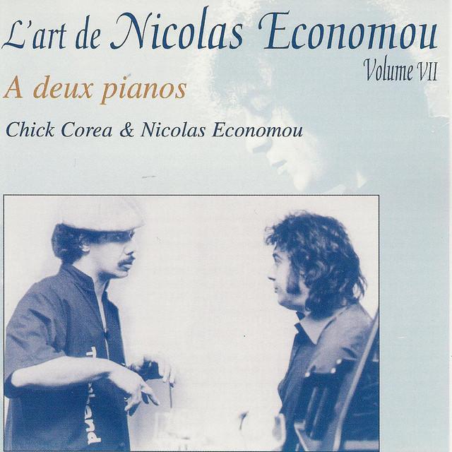 "Bartók, Corea, Economou : ""On two pianos"" - L'art de Nicolas Economou, volume 7"