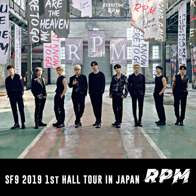 Album cover for Live-2019 Hall Tour -RPM- by SF9