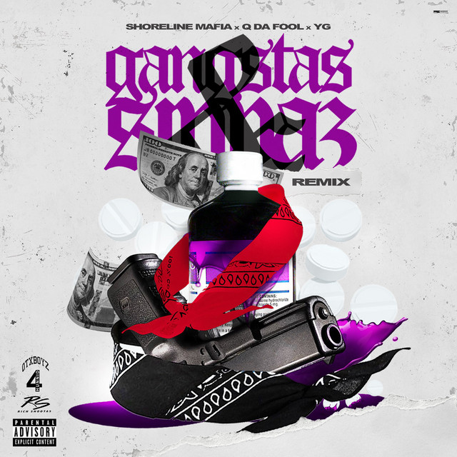 Gangstas & Sippas (feat. Q Da Fool & YG) [Remix]