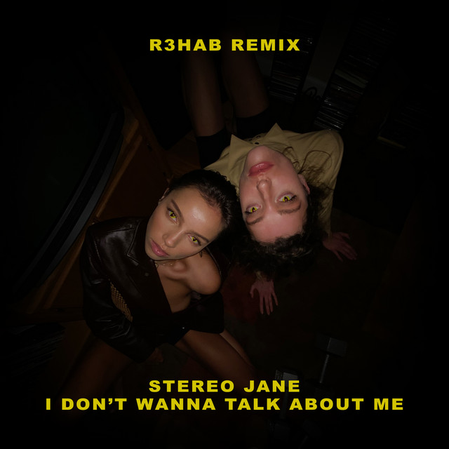 I don't wanna talk about me (R3HAB Remix)