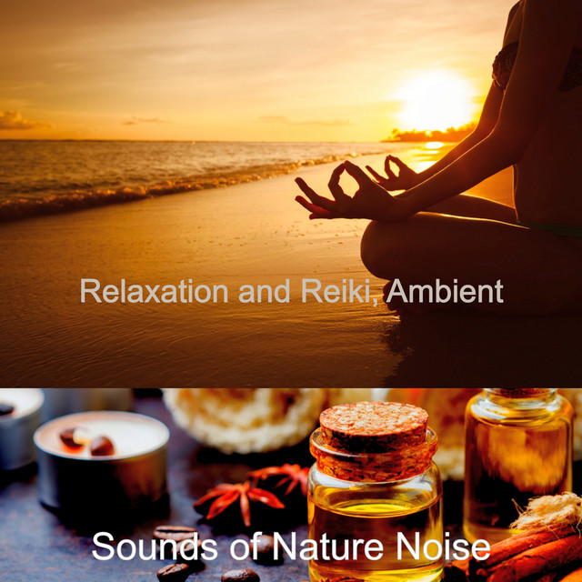 Album cover for Relaxation and Reiki, Ambient by Sounds of Nature Noise