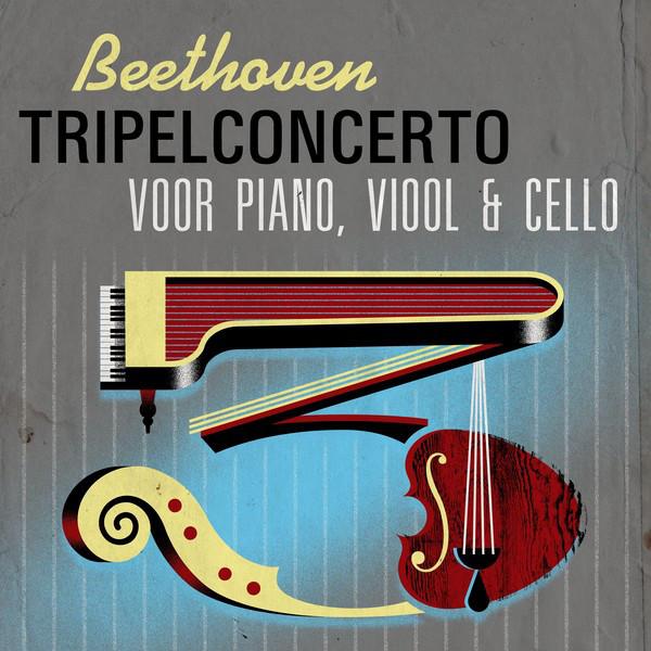 Beethoven Tripelconcerto voor piano, viool & cello
