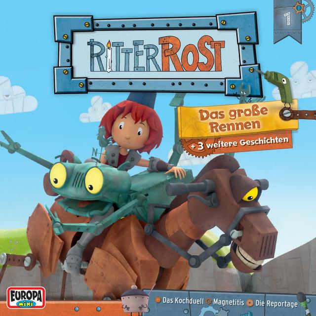 Hörspiel zur TV-Serie 01 - Das große Rennen Cover