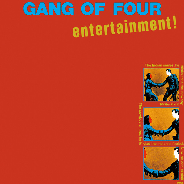 Gang Of Four  Entertainment! :Replay