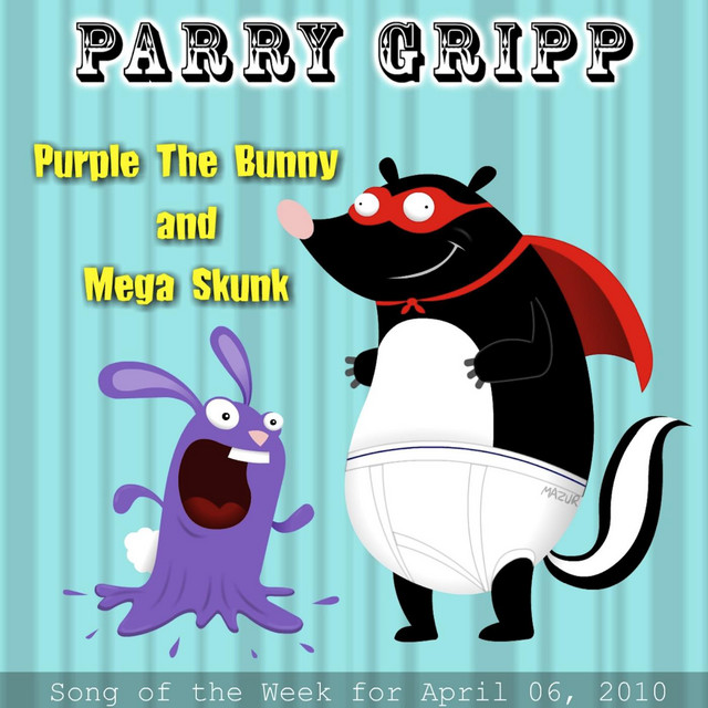 Purple the Bunny and Mega Skunk by Parry Gripp