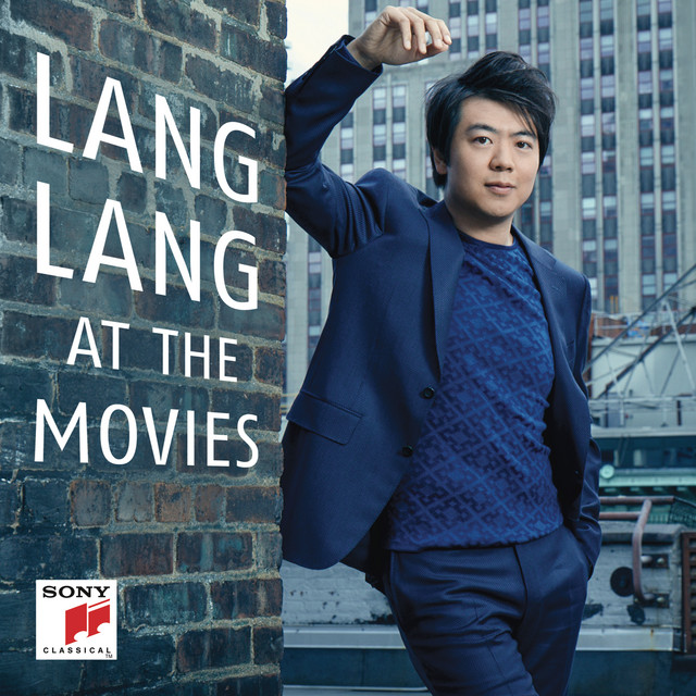 Album cover for Lang Lang at the Movies by Lang Lang