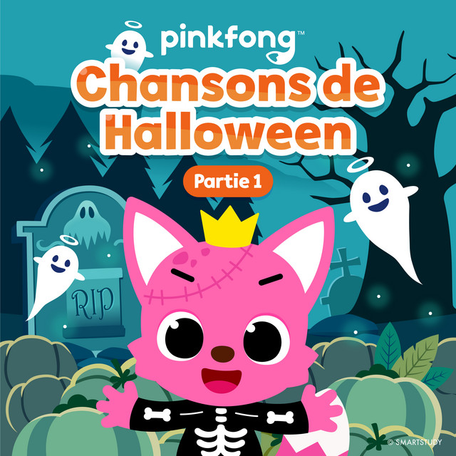 Album cover for Chansons De Halloween (Partie 1) by Pinkfong