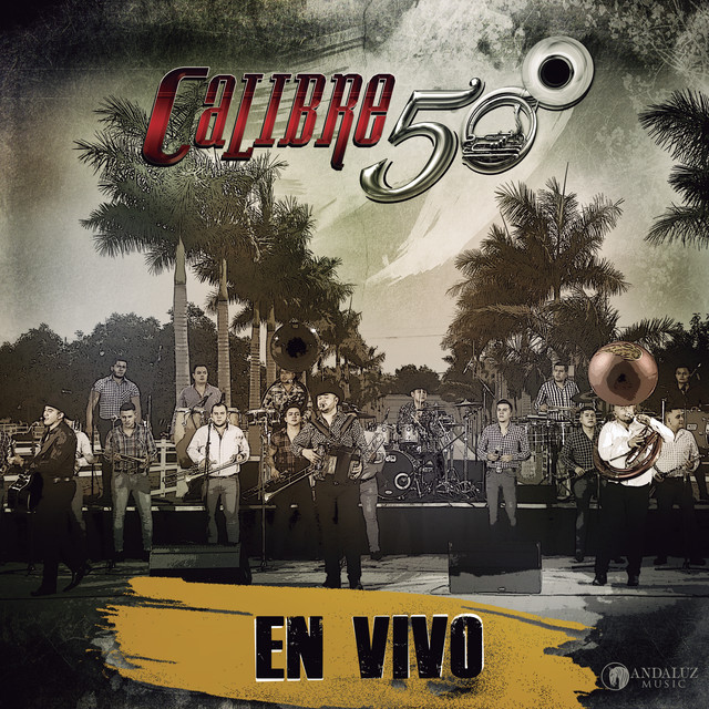 Album cover for En Vivo by Calibre 50