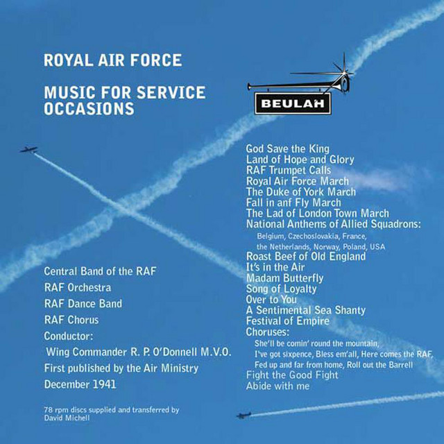 RAF Music for Service Occasions