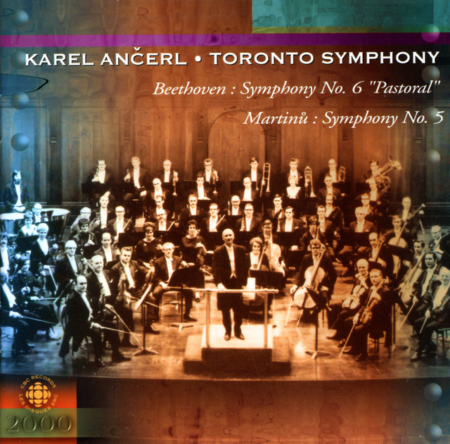 Beethoven: Symphony No. 6 / Martinu: Symphony No. 5