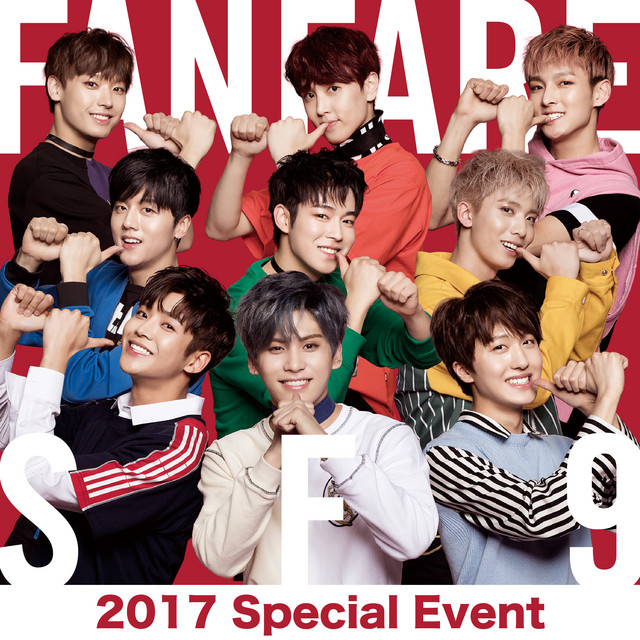 Album cover for Live-2017 Special Event -Fanfare by SF9