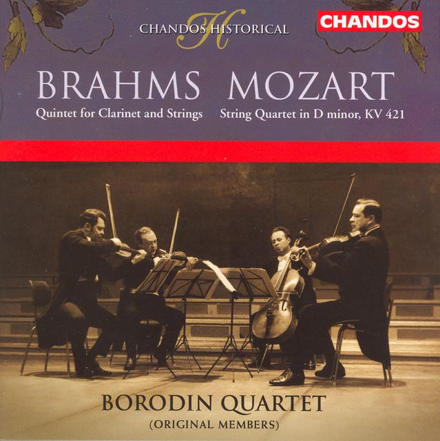 Brahms: Clarinet Quintet / Mozart: String Quartet No. 15