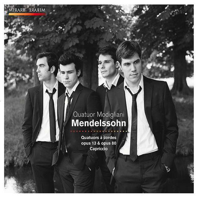 Mendelssohn: Quatuor à cordes, Op. 13 & 80 et Capriccio