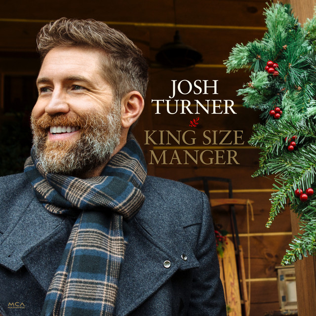 Album cover for King Size Manger by Josh Turner