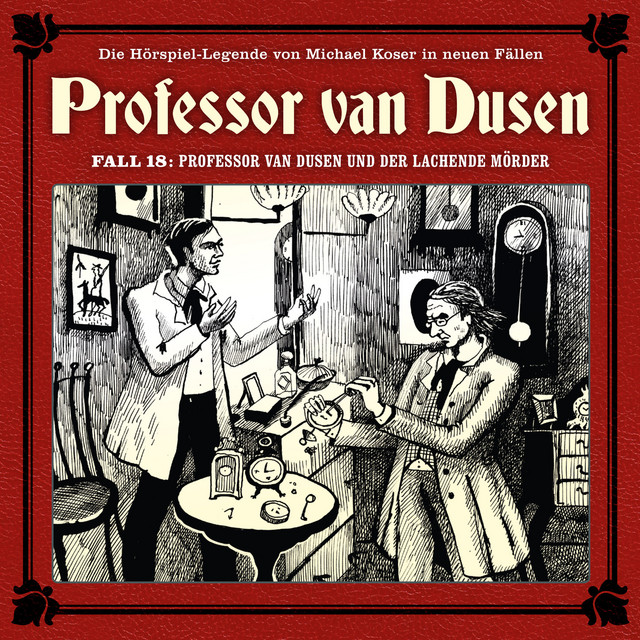 Die neuen Fälle, Fall 18: Professor van Dusen und der lachende Mörder Cover