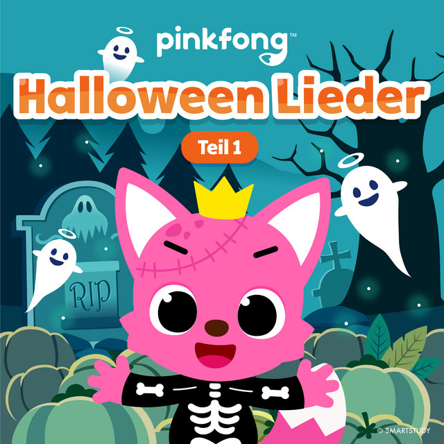 Album cover for Halloween Lieder (Teil 1) by Pinkfong