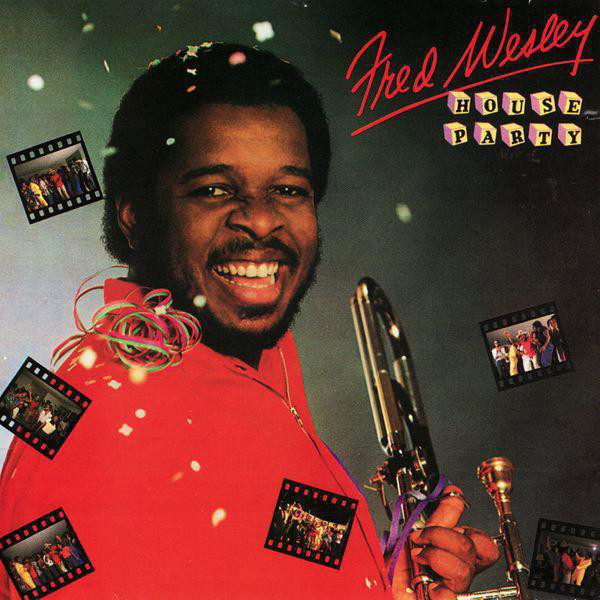 Cover art for House Party by Fred Wesley