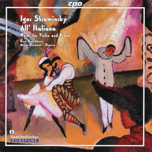 Stravinsky: Works for Violin & Piano