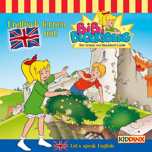 Englisch lernen mit Bibi Blocksberg - Folge 1: Der Schatz von Blackford Castle Cover
