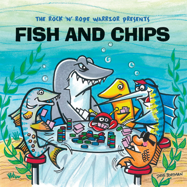 Fish and Chips by The Rock 'N' Rope Warrior