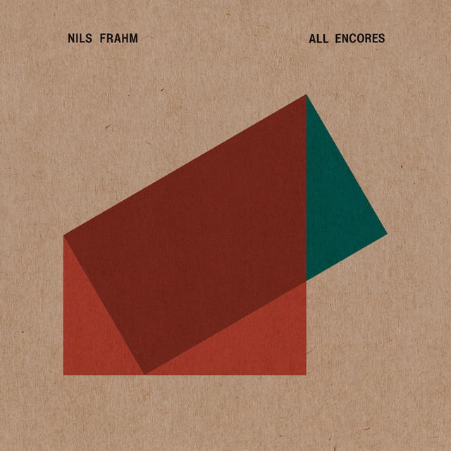 Album cover for All Encores by Nils Frahm
