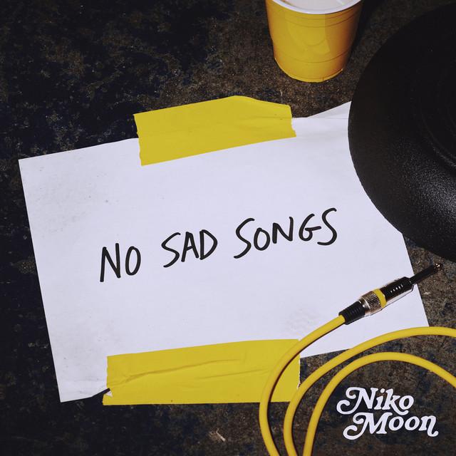 NO SAD SONGS album cover