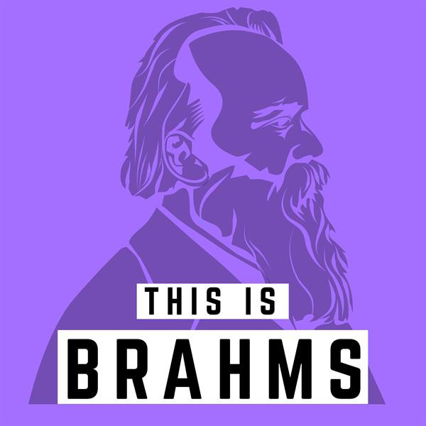 Album cover for This is Brahms by Johannes Brahms, Various Artists