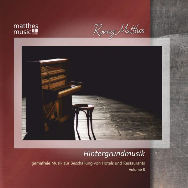 Hintergrundmusik, Vol. 8 - Gemafreie Musik (Klaviermusik, Klassik & romantische Filmmusik)