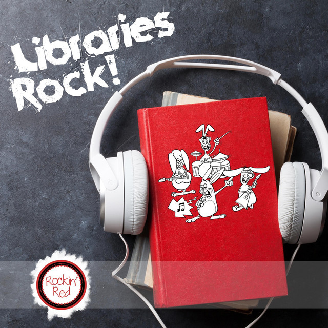 Libraries Rock! by Rockin' Red