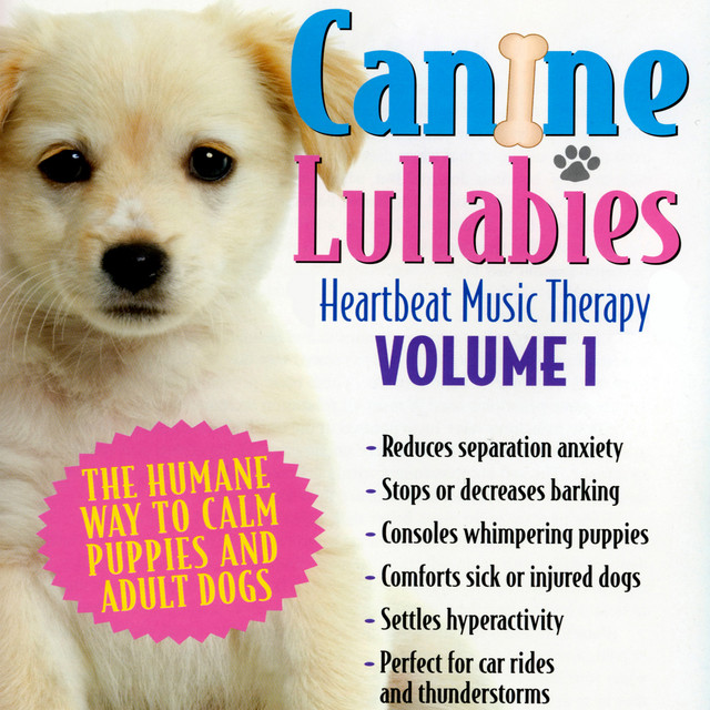 Canine Lullabies: Heartbeat Music Therapy