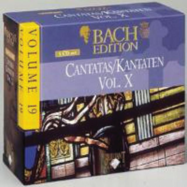 Bach Edition Vol. 19, Cantatas Vol. X Part: 2