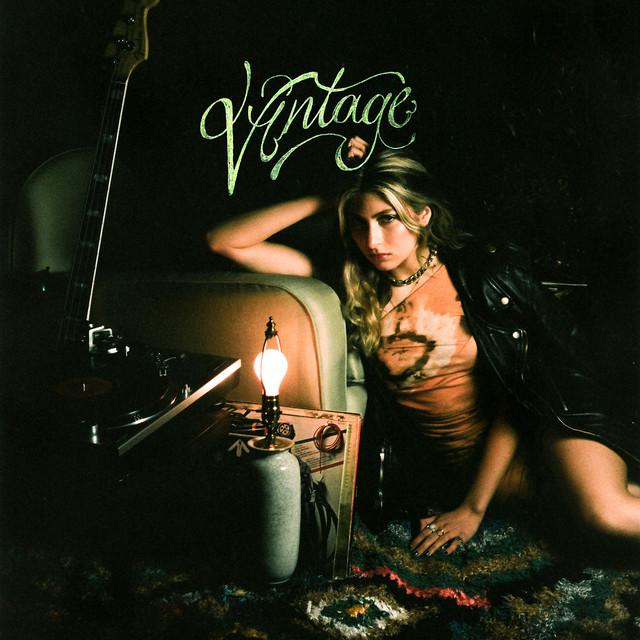 Vintage album cover