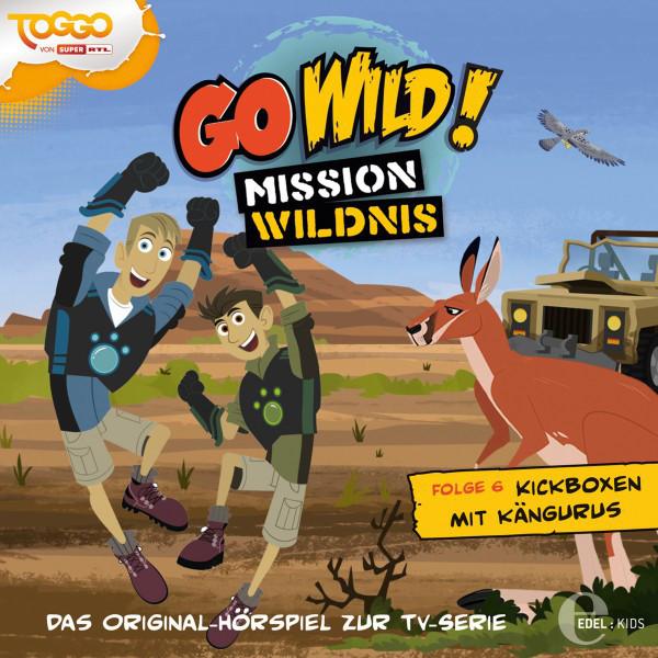 Folge 6: Die Nashörner sind los!  -  Kickboxen mit Kängurus (Das Original-Hörspiel zur TV-Serie) Cover