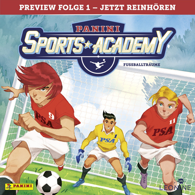 Preview, Folge 01: Fußballträume Cover